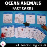 Ocean Animals Fact Cards