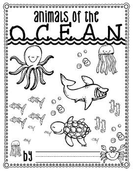 Ocean Animals Fact Journal