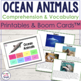 Ocean Animals Facts!  {Receptive & Expressive Language Activities}
