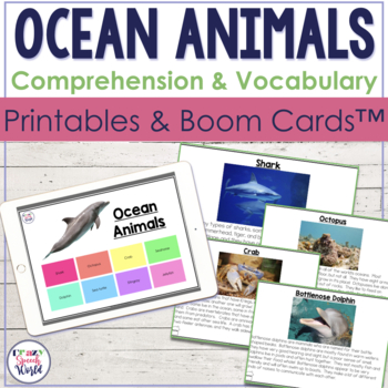 Image of: Amazing Things Original6894481jpg Teachers Pay Teachers Ocean Animals Facts receptive Expressive Language Activities