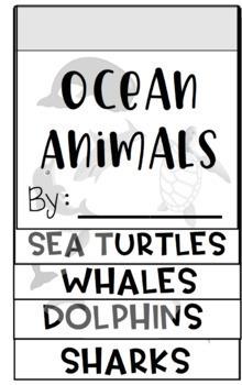 Ocean Animals Flipbook