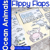 Ocean Animals Flippy Flaps Interactive Notebook Lapbook