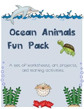 Ocean Animals Fun Pack