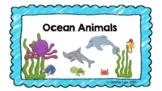 Ocean Animals Google Slides for Distance Learning