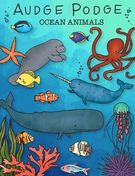 Ocean Animals Graphic Pack
