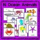 Ocean Animal Fun Fact Cards (informational text)