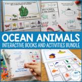 Ocean Animals Interactive Books and Activities Bundle