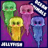 Ocean Animals: Jellyfish