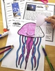 Ocean Animals Reading: Jellyfish Differentiated Reading Pa