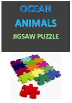 Ocean Animals Jigsaw Puzzle