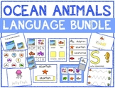 Ocean Animals Language Bundle with Adapted Books