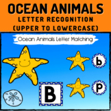 Ocean Animals Letter Recognition Boom Cards - Upper to Lowercase Letters