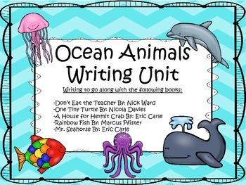 Ocean Animals Literature/Writing Unit
