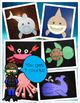Ocean Animals MEGA Unit (300 Pages) Crafts, Books, Slides, Songs & More