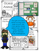 Ocean Animals MEGA Unit (300 Pages) Crafts, Books, Slides,