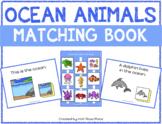 Ocean Animals Matching Book (Adapted Book)