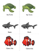 Ocean Animals Literacy Centers Grades 1-6