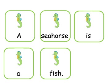 Ocean Animals Math and Literacy Centers