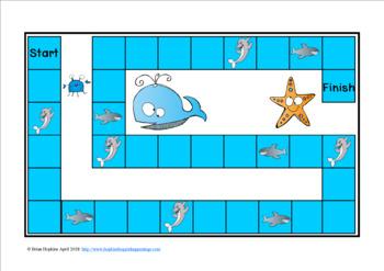 Ocean Animals Multiplication Race