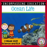 Ocean Animals Next Generation Science and Common Core ELA 3 Week Unit