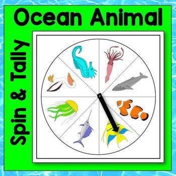 Ocean Animal Spin and Tally Math Center