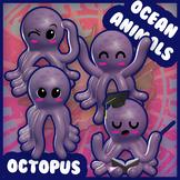 Ocean Animals: Octopus
