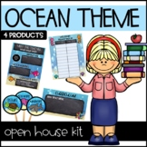 Ocean Animals Open House Kit - Meet the Teacher - Back to School