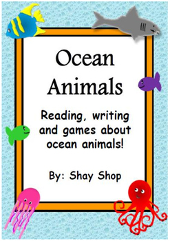 Ocean Animals Packet