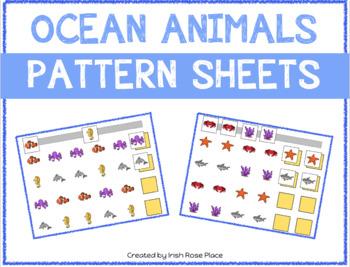 Ocean Animals Pattern Mats
