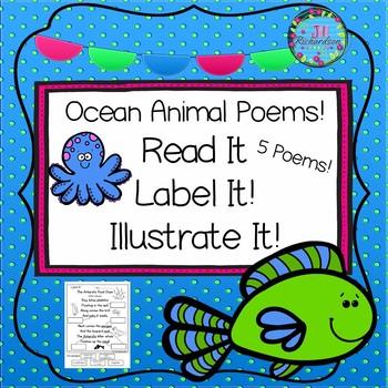 Ocean Animal Poetry!