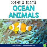 Ocean Animals - Print and Teach