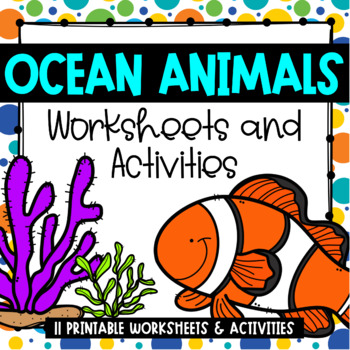 image regarding Printable Ocean Animals referred to as Ocean Pets Printables: Worksheets Functions