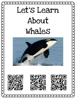 Ocean Animals QR Code Nonfiction Research