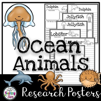 Ocean Animals Research Guides