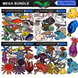Ocean Animals / Sea Creatures Clip Art/Under the Sea BUNDLE