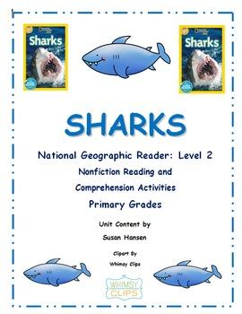 Ocean Animals: Sharks National Geographic Level 2 Reader