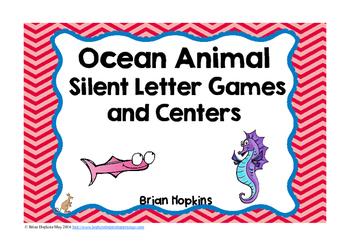 Ocean Animals Silent Letters