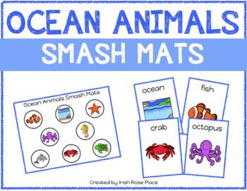 Ocean Animals Smash Mats