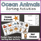 Ocean Animals Sorting Activities