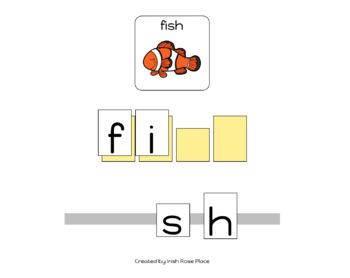 Ocean Animals Spelling Books (Adapted Book)
