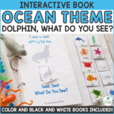 Ocean Animals Theme Interactive Adapted Books - Dollar Deal!