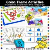 Ocean Animals Theme Preschool