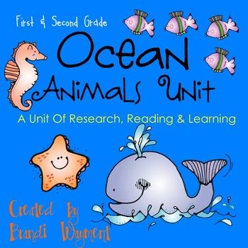 Ocean Animals Unit
