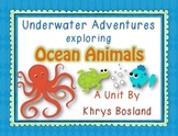 Ocean Animals Unit {Common Core Aligned} {Literacy, Science and So Much More}