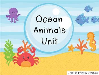 Ocean Animals Unit - Dive in!