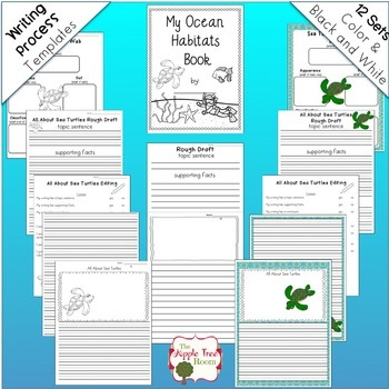 Ocean Animals CCSS Research, Writing, and Craft Projects