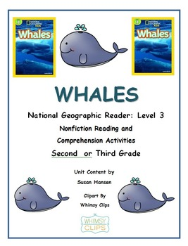 Ocean Animals: Whales National Geographic Reader Level 3