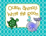 Ocean Animals Write the Room (8 words)