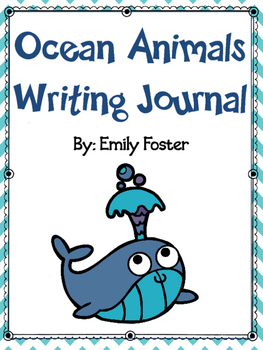 Ocean Animals Writing Journal