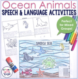 Speech in the Sea: No Prep Speech and Language Therapy